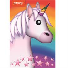 Emoji Unicorn Blank Greeting Card