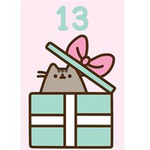 Pusheen Age 13 Present Greeting Card