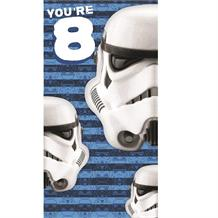 Stormtrooper | Star Wars 8th Birthday Greeting Card