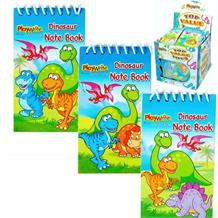 Dinosaur Mini Notepad Party Bag Favours