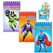 Superhero Mini Notepad Party Bag Favours