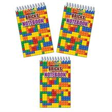 Building Block Notepad Party Bag Filler | Favours