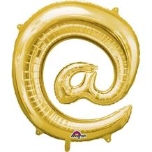 "Anagram Gold 34"" @ Symbol Supershape Foil 