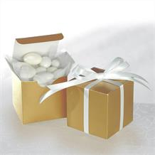 Gold Wedding Favour Boxes