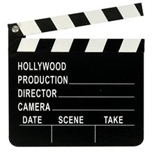 Hollywood Directors Clapper Board | Decoration