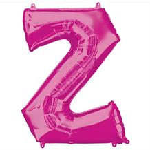 "Anagram Pink 34"" Letter Z Supershape Foil 