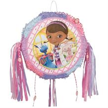 Doc Mcstuffins Drum Pop Out Pull Pinata Party Game | Decoration