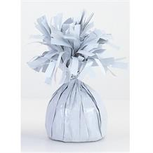 White Foil Balloon Weight Table Centrepiece | Decoration