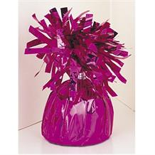 Hot Pink Foil Balloon Weight Table Centrepiece | Decoration