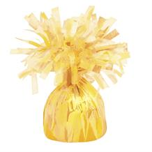 Yellow Foil Balloon Weight Table Centrepiece | Decoration