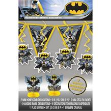 Batman Party 7pc Decoration Set