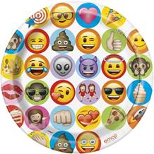 Emoji | Monkey | Devil | Heart | Smiley Face 23cm Party Plates