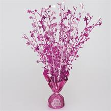 Pink Glitz Party Table Centrepiece with Stickers | Decorations