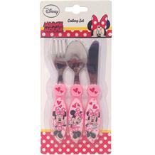 Minnie Mouse Cutlery | Knife | Fork | Spoon | Set