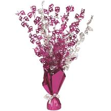 Pink Glitz 40th Birthday Party Table Centrepiece | Decoration