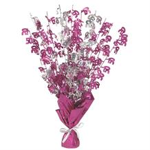 Pink Glitz 50th Birthday Party Table Centrepiece | Decoration