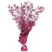 Pink Glitz 60th Birthday Party Table Centrepiece | Decoration