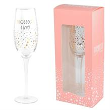 Prosecco Glass | Prosecco Time Sparkling Dots | Keepsake