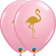 Flamingo Pink 25pk Party Latex Balloons