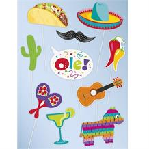 Mexican Fiesta Photo Booth Party Props