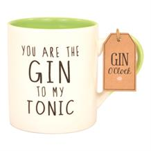 Gin | You Are The Gin To My Tonic Drinking Mug | Cup