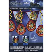 Harry Potter Party 7pc Decoration Set