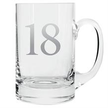 Age 18 Silver Tankard Glass | Keepsake