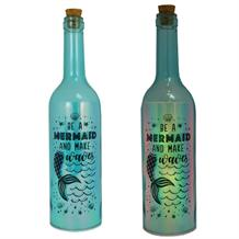 Mermaid | Make Waves Iridescent Light Up Bottles | Keepsake