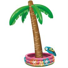 Inflatable Palm Tree Hawaiian Party Drinks Cooler