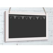 Wooden Black Board Bunting | Wedding | Hanging Decoration