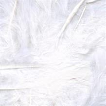 White Eleganza Decorative Craft Marabout Feathers 8g