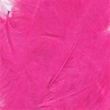 Hot Pink Eleganza Decorative Craft Marabout Feathers 8g