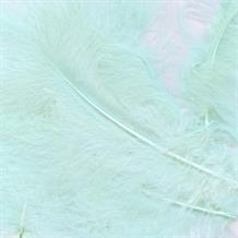 Baby Blue Eleganza Decorative Craft Marabout Feathers 8g