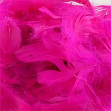 Hot Pink Eleganza Decorative Craft Feathers 50g