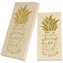 Pineapple | Stand Tall Belgian Chocolate Gift Bar