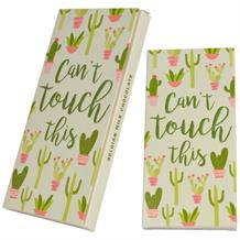 Cactus | Can't Touch This Belgian Chocolate Gift Bar