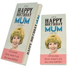 Happy Birthday Mum | Retro Belgian Chocolate Gift Bar