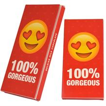 Emoji 100% Gorgeous Belgian Chocolate Gift Bar