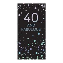 Age 40 | Fabulous Sparkling Dots Belgian Chocolate Gift Bar