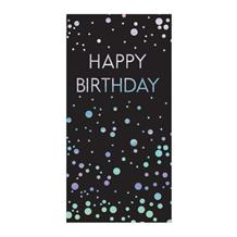 Happy Birthday Sparkling Dots Belgian Chocolate Gift Bar