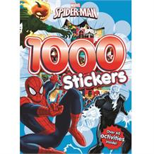 Spiderman 1000 Sticker Activity Book