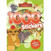 Lion Guard 1000 Sticker Activity Book