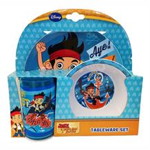Jake Neverland Pirates Tumbler | Bowl | Plate Set