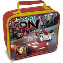 Disney Cars Neon Insulated School Lunch Bag