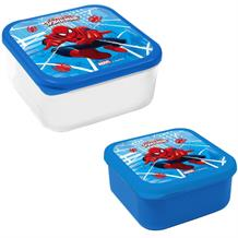 Ultimate Spiderman 2pc Lunch Snack Box | Container