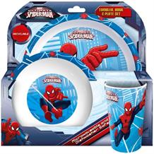Marvel Spiderman Tumbler | Bowl | Plate Mealtime Set