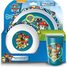 Paw Patrol Good Pups Tumbler | Bowl | Plate Mealtime Set