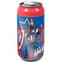 Marvel Captain America School Drink Can