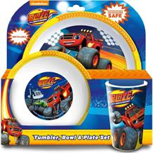 Blaze and the Monster Machines Mealtime Tumbler | Bowl | Plate