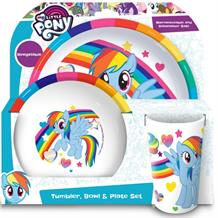 My Little Pony Tumbler | Bowl | Plate Mealtime Set